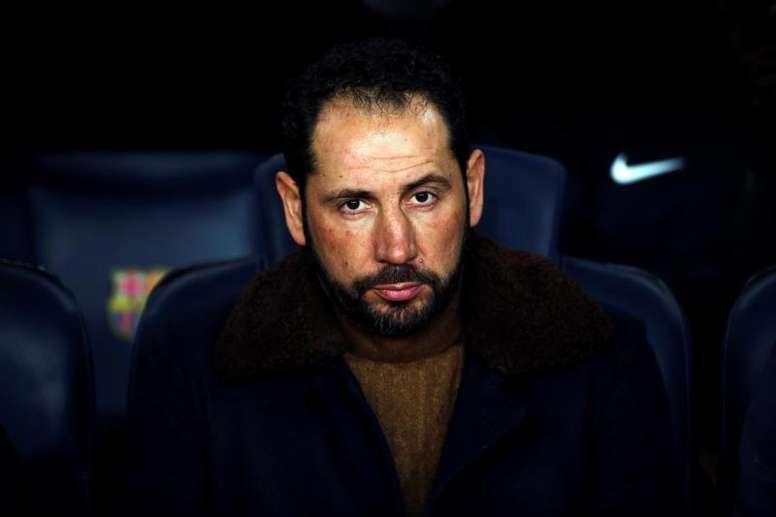 Machín n'est plus l'entraîneur du FC Séville. EFE/Archive