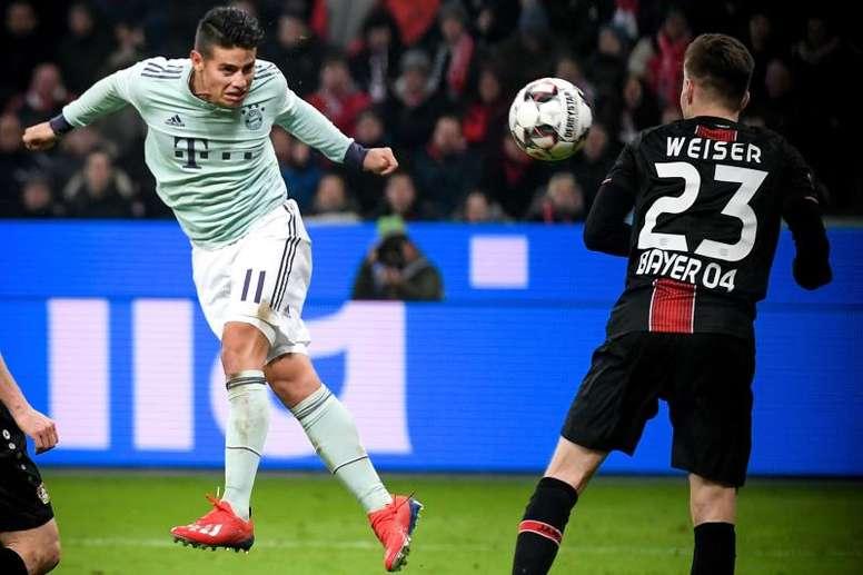 O colombiano não quer continuar no Bayern de Munique. EFE/Archivo