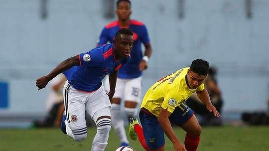 Palmeiras compra promessa da base colombiana. EFE