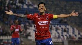 La tabla de los máximos goleadores de la Liga Águila 2019. EFE