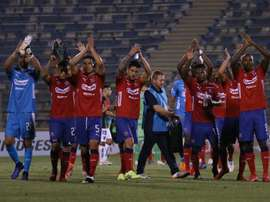 Fernández hizo el empate para Palestino. EFE