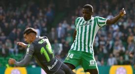 William Carvalho pondera deixar o Bétis. EFE