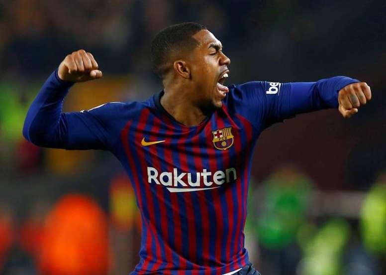 Malcom pourrait quitter le FC Barcelone. EFE