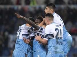 La Lazio ganó al Empoli con un gol de Caicedo. EFE