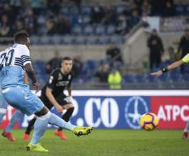 Caicedo is about to sign a new contract at Lazio. EFE