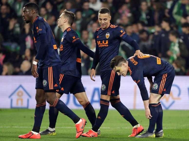 El Valencia visita al Celtic. EFE