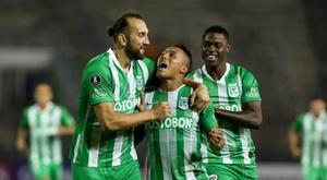 Nacional consiguió salvar el empate. EFE