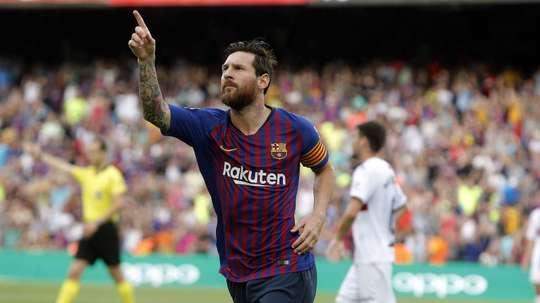 Comparam José Luis Rodríguez a Messi. EFE