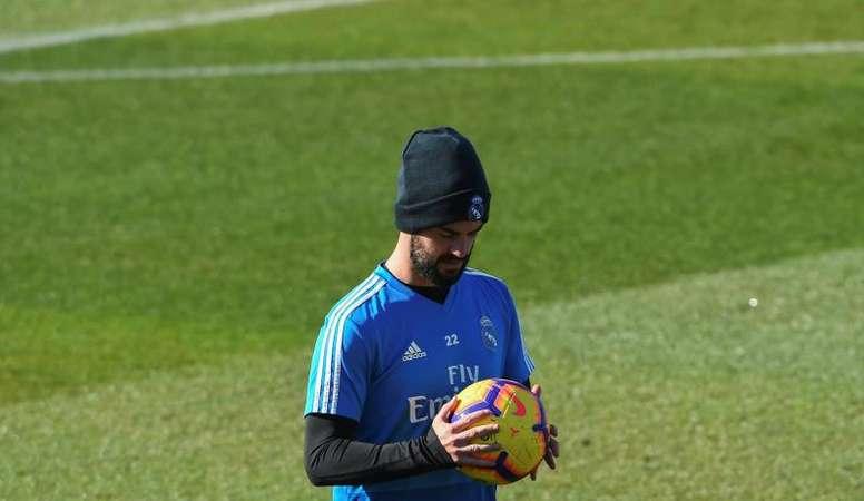 Isco pudo sorprender a Zidane, pero no lo consiguió. EFE