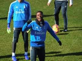 Vinicius deve estar em campo pelas oitavas de final da Copa do Rei contra o Real Zaragoza. EFE