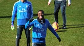 Vinicius n'a pas encore joué pour Zidane. EFE