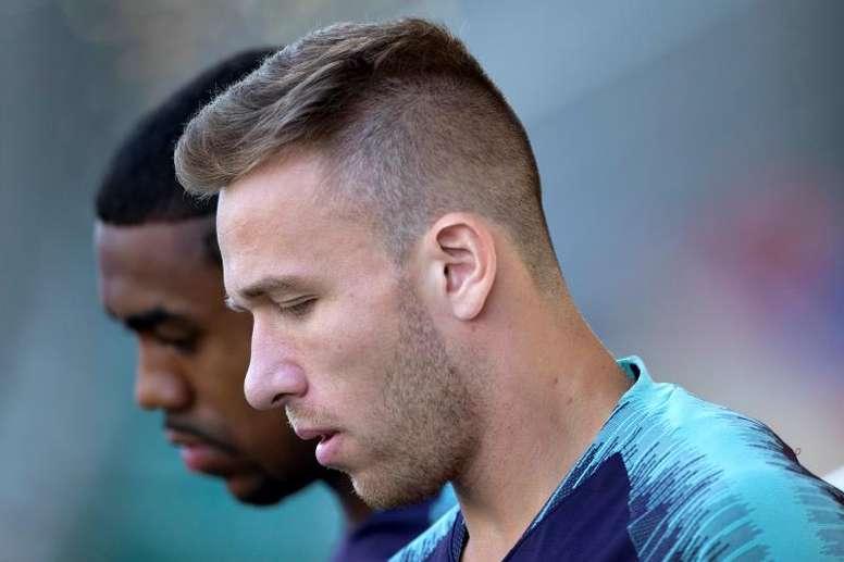 La Juve insiste con Arthur. EFE