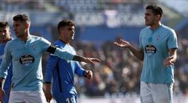 Jozabed lamentó la expulsión de Maxi Gómez. EFE
