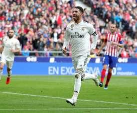 Sergio Ramos, même nombre de matches et six buts de plus que la saison passée. EFE
