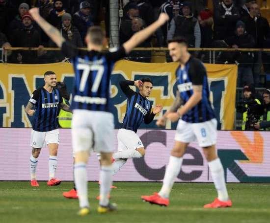 Lautaro rescató al Inter. EFE