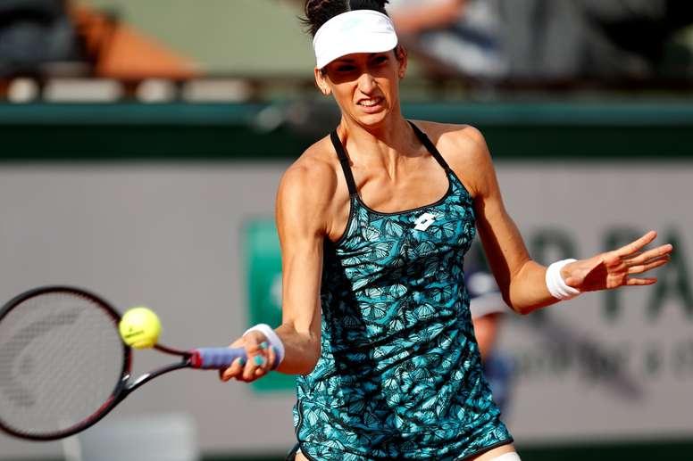 La tenista española Georgina García. EFE/Archivo