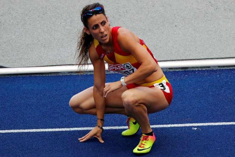 La atleta española Caridad Jerez. EFE/Archivo