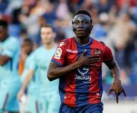 Emmanuel Boateng pourrait rejoindre la Chine. EFE