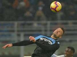 Milinkovic-Savic no estará ante el Sevilla e Immobile es duda. EFE/Archivo