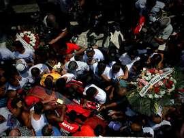 La tragedia de Flamengo sigue siendo noticia. EFE