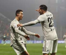 Emre Can deixou vários elogios a Cristiano Ronaldo. EFE