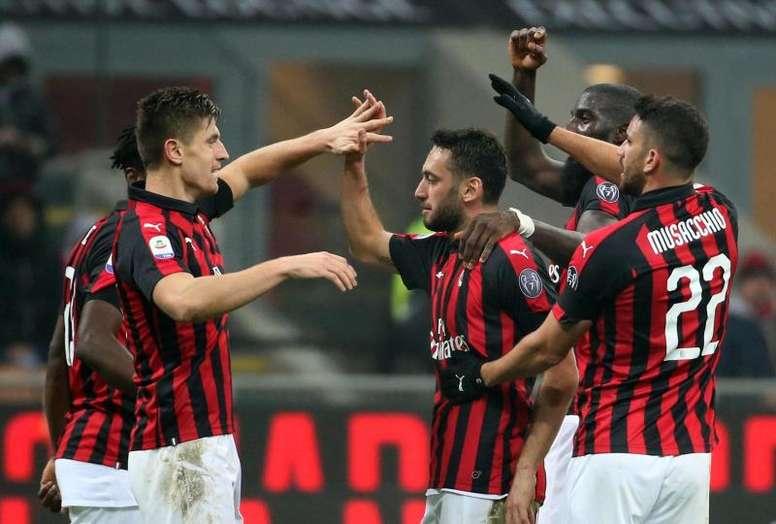 Piatek est déjà un héros à Milan. EFE