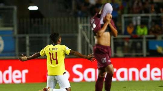 Ecuador derrotó a Colombia. EFE