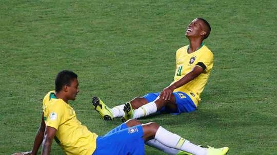Brasil se llevó el choque por 1-0. EFE