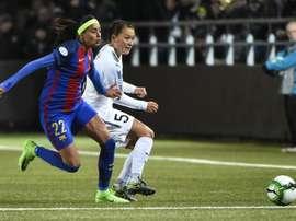 A atleta da Seleção Brasileira Andressa Alves é o novo reforço da Roma. EFE/Arquivo