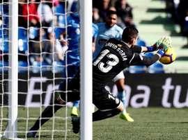 Soria, prudente al soñar con la Selección. EFE