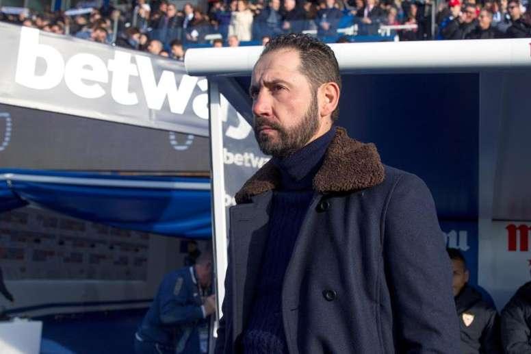 Pablo Machín analizó con perspectiva su etapa en el Sevilla. EFE