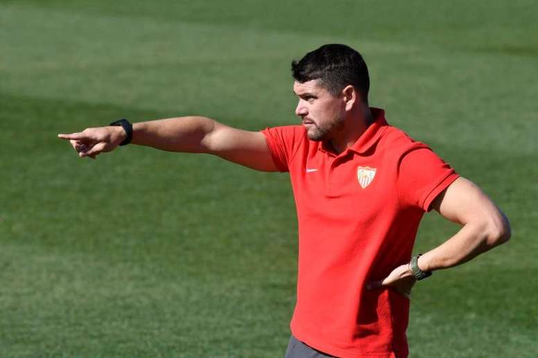 Cristian Toro valoró la situación de crisis actual. EFE/SevillaFC