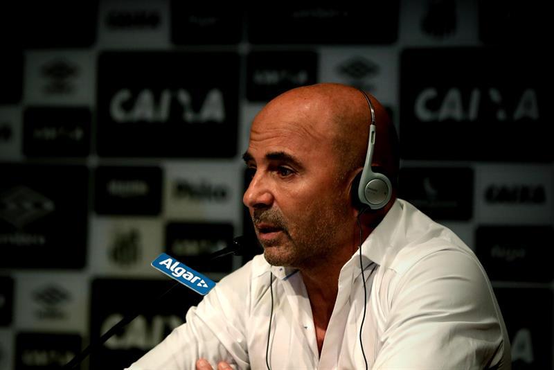 El Santos de Sampaoli debutó en la Sudamericana con un empate