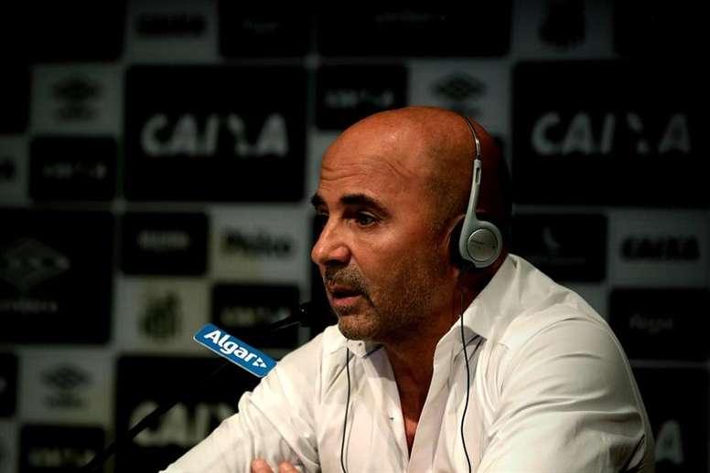 Sampaoli decidirá el futuro de 'Morato'. EFE/Archivo