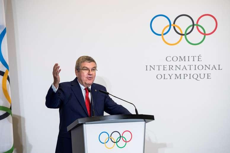 El presidente del Comité Olímpico Internacional, el alemán Thomas Bach. EFE/Archivo