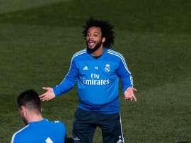 Marcelo s'est exprimé après avoir reçu le trophée The Best. EFE