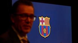 Josep Vives reveló los tratos del Barça con Arabia Saudí. EFE/Archivo
