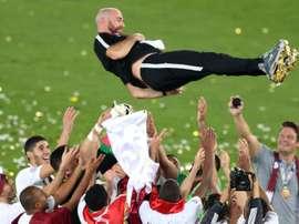 Félix Sánchez Bas ganó la Copa Asia con Catar. EFE/Archivo