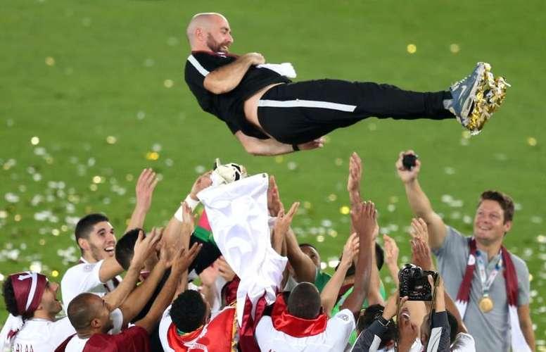 La última campeona de la Copa Asia fue Qatar. EFE/EPA/Archivo