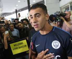 El jugador bareiní llegó a Australia tras más de dos meses detenido. EFE