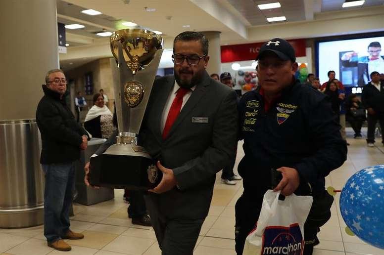 Ecuador, Argentina, Uruguay y Colombia irán al Mundial. EFE