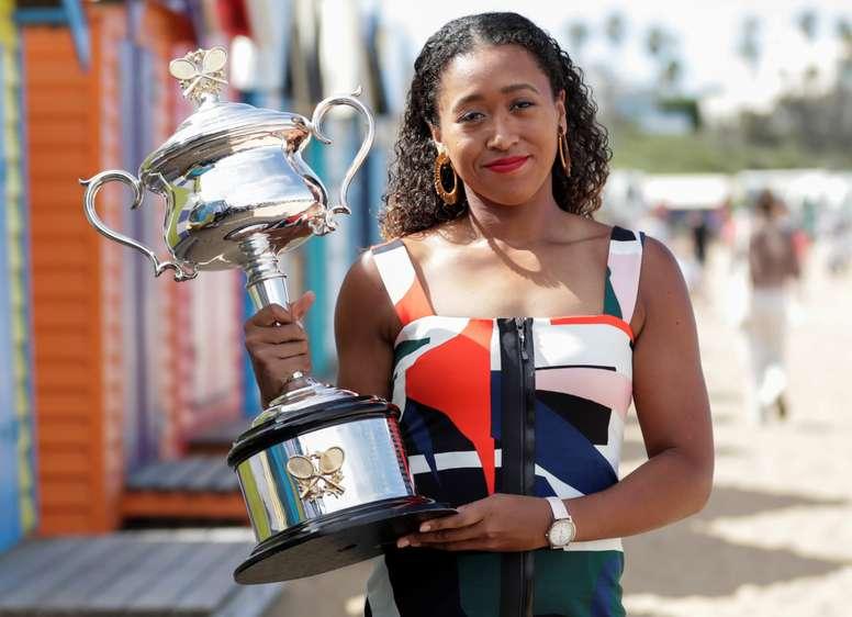 La tenista Noami Osaka, número uno en el ránking de la WTA. EFE/Archivo