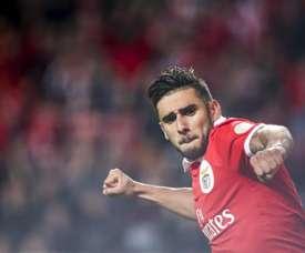 Salvio está cada vez mais perto de rumar ao Boca Juniors. EFE
