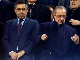 O Barça é mais valioso que o Real Madrid, aponta a revista Forbes. EFE/Archivo