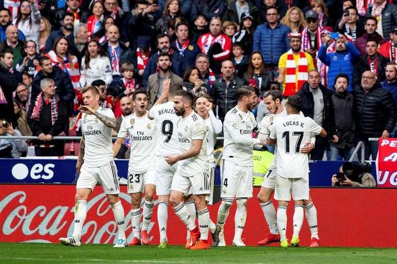 El Real Madrid recupera el tono para la Champions League. EFE
