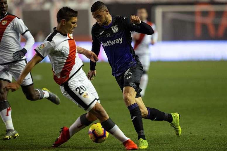 Velázquez se perderá el choque ante el Atlético de Madrid. EFE