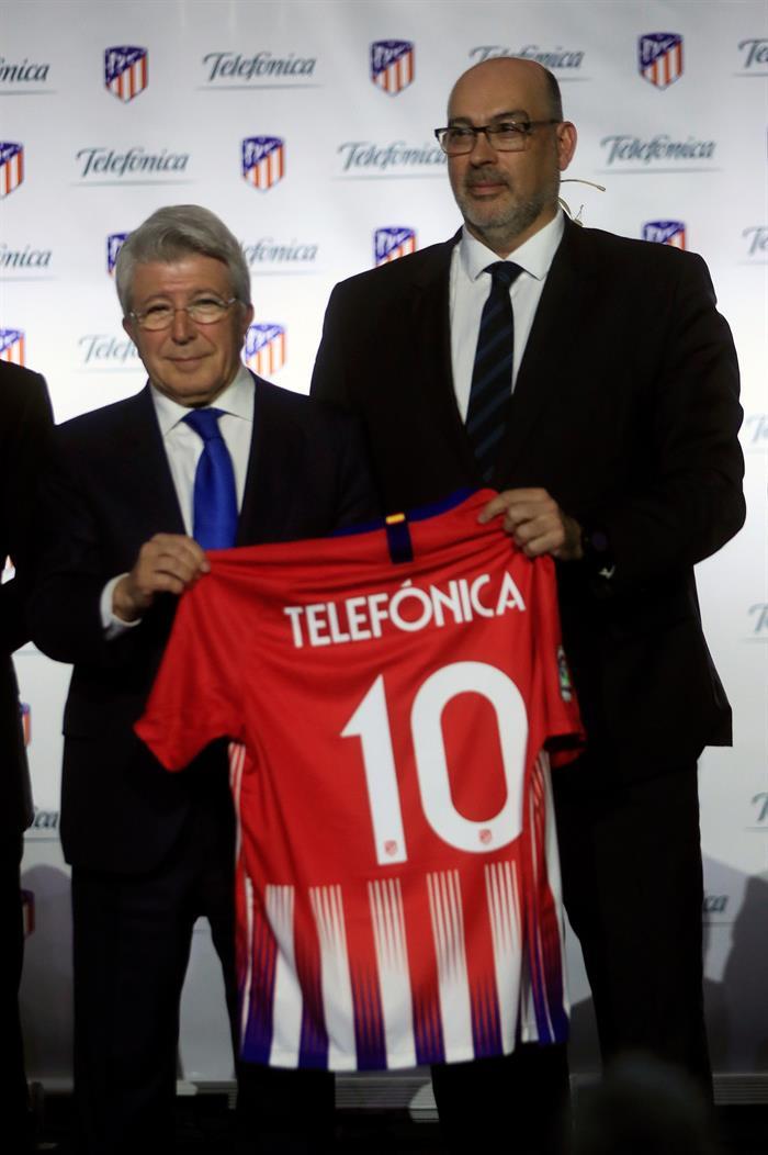 Nuevo acuerdo en el Atlético. EFE