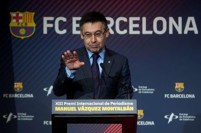 Bartomeu soutient Valverde. EFE