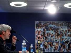 La dirección de fútbol de la Real repasó la actualidad del club. EFE