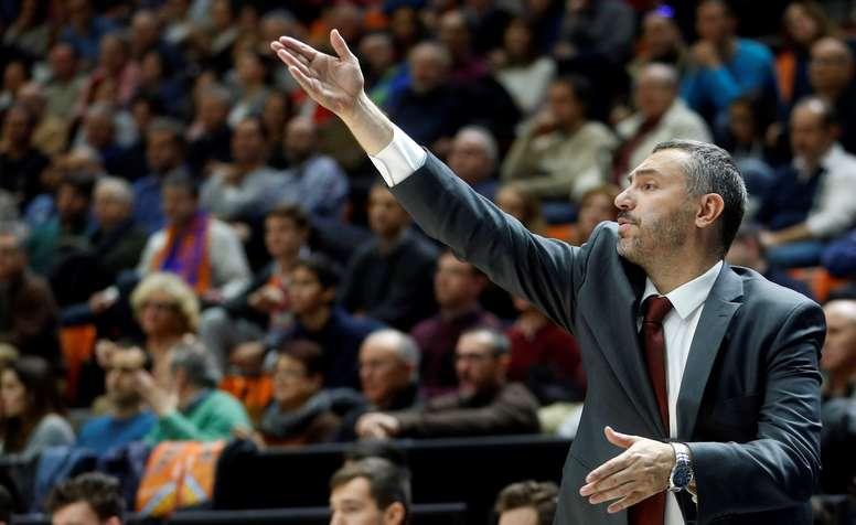 El entrenador Jota Cuspinera vuelve a Fuenlabrada. EFE/Archivo